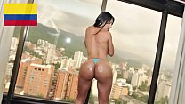 "CULIONEROS - Colombian Goddess ""Isabel"" Gets Her Big Ass Fucked Hard"