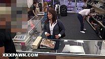 XXX PAWN - Desperate MILF Sells Her Husband's Baseball Cards For Bail Money