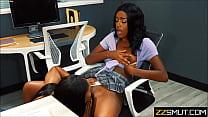 Black sisters eat cunts