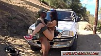 Police ass lick the crew picked up this latina whore who was