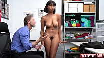 Jenna Foxx In Prevention officer Put Seed In Her Lips
