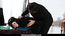 InnocentHigh - Sneaky Student (Cadence Carter) Fucked In The Oval Office