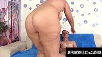 Jeffs Models - Chubby Hottie Amanda Foxxx Cowgirl Compilation Part 2