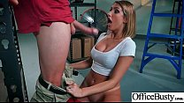 Office Horny Girl (August Ames) With Big Melon Tits Enjoy Hard Bang mov-08