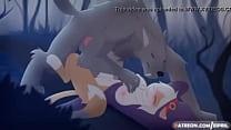 furry girl fucked by werewolf