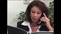 Mature Office Fuck With Vanessa Videl - Full Movie