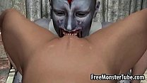Hot 3D blonde gets fucked hard by a horny zombiebie-high 2