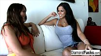 Diamond And Heather Silk Get Together For Some Hot Girl On Girl Action
