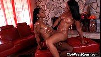 Hot black lesbian girls Anita and Porshe