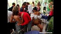 Elegant bitches take dicks at a wedding