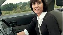 horny mom stopped car to masturbate