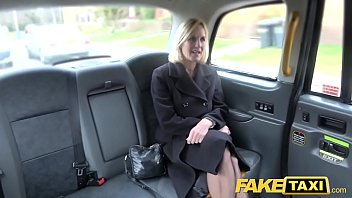 Fake Taxi Mature Milf gets her big pussy lips stretched open