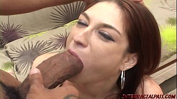 Redhead Mom pounded by super thick black cock