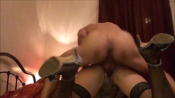 T&A 515 - Satin Lingerie, Heels and Stockings