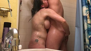 Anal with Wife in Shower Rimjob - BunnieAndTheDude
