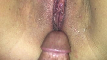 Real Amateur College Girlfriend close up of creamy orgasm and contractions