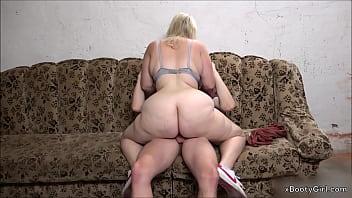 Teen gets a cock in her big ass in the garage. www.BootyassGirl.com