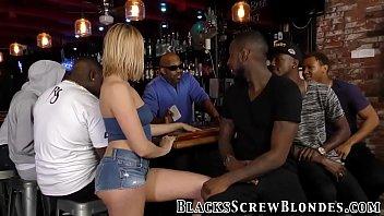 Babe ass rides black cock