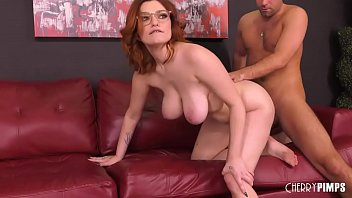 Voluptuous Redhead Teen With Big Tits Gets Pounded Hard in a Live Sex Show