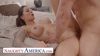 Naughty America - Alexis Zara fucks her trainer and best friend's husband